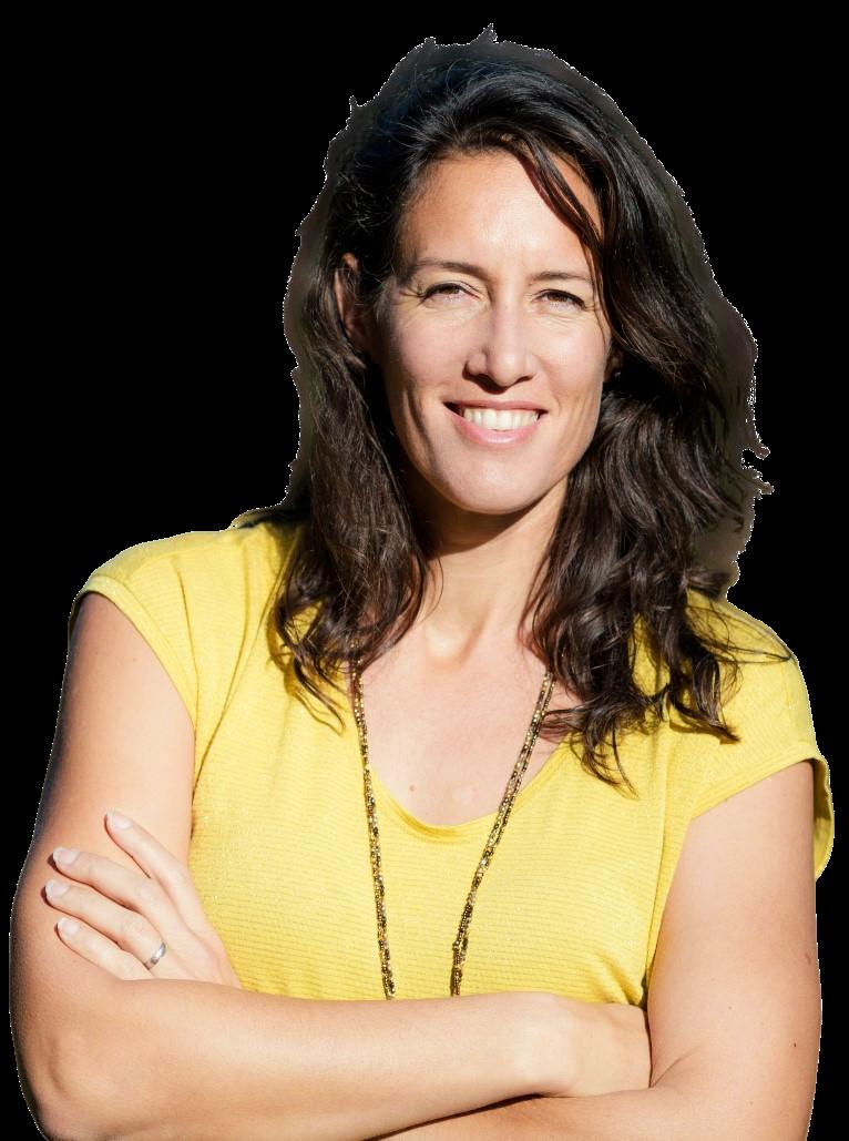 Portrait Anne-Gaëlle Coach d'équipe